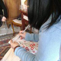Blessingway écriture voeux Lyon doula