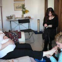 Blessingway massage Lyon doula